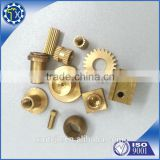 Special made hot sale brass gear clock cnc machine part