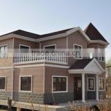 Prefabricated light steel structure villa / prefabricated steel frame villa/prefabricated luxury villa