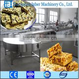 snack making peanut brittle cereal bar machine