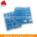 Beautiful design custom colorful silicone keyboard cover