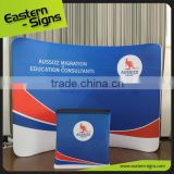 Export To Worldwide Use Hot Sale Aluminum Velcro Pop Up Banner Of Exhibition Booth