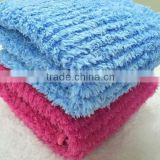 Super Soft Microfiber Stripe Knitted Baby Blanket