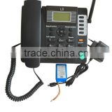 2016 new product GSM Fixed Wireless Phone big lcd telephone landline phone with sim card