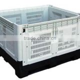 Euro Size Food Grade Corrugated Collapsible Plastic Pallet Box