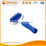 Chi-buy High Quality Wholesale Price Dog Rubber Brush with Rake,Three Sizes:XS155*75*40mm/ S:163.5*94*43mm/ L: 190*105.5*55mm