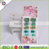 Nail Art Kit Christmas Nail Sticker Xmas Water Decals Full Nail Wraps Nails Accessories Set Snowflake Snow Man