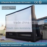 giant outdoor inflatable movie screen inflatable projection screen 8x6m inflatable film screen portable screen inflatable