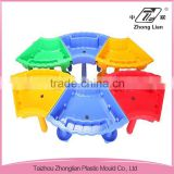 Plastic colorful sandbox children kids sand and water play table/sand table