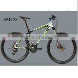 "KA1500 China factory price MTB mountain bike racing road Bicycle 26"" 432mm alloy frame 2 bearing hub 9S 11-32T Fly wheel HOMHIN"