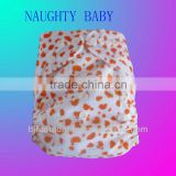 minky Waterproof cloth baby diapers