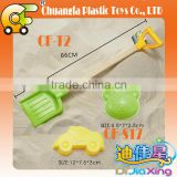 Sand digging toys plastic beach rake toys sand shovel toys for kids
