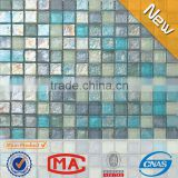 2L iridescent hot sale mosaic tile iridescent glass mosaic cheap vitrified tiles price in india wall tiles mosaic decoration