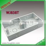 PVC junction box with baffle 86*146 plastic box
