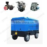 Mining Drilling Rig Use Wheels Air Compressor