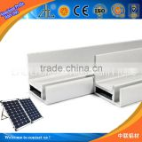Hot prodcut in 2014 aluminium solar panel mounting structure, extrusion aluminium solar panel wall mounting