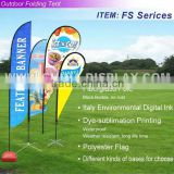 Outdoor Exhibition show customize Flag Banner Printing & Flag Banner & Banner Flag