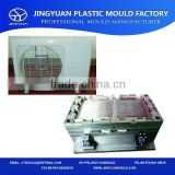 OEM high quality injeciton plastic air cooler mould/ plastic air conditional mould supplier