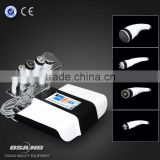 Portable 5 in 1 face and body slimming machine 1 & 3 mhz ultrasound therapy machines