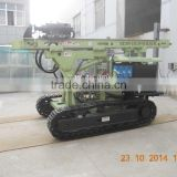 hydraulic pile driving drilling machine spiral pile machine auger drilling rig MZ130Y-2 manufacturer