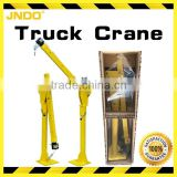 Electric power pickup-mounted crane with honeycomb carton packing