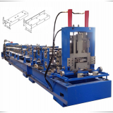 Roll forming machine for building material