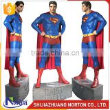 Life Size Fiberglass Superman Statue for Sale NTRS-092LI
