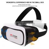 ZOOM FUNCTION VR case 3plus 3D glasses VR box with headstrap vr glasses for mobile phone
