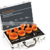 13pcs BI-METAL HOLE SAW KIT IN ALUMINUM CASE