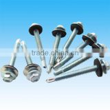 Galvanized Hex Head Self drilling Screws With Washer