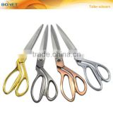 "S13002G/B/C/S 9-1/2"" 4 colors superior quality ice tempered stainless steel blade zinc-alloy handle tailor fabric scissors"