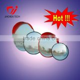Outdoor and indoor traffic mirror convex