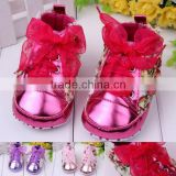 Rose Flower Soft Sole Baby Girls Shoes