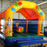 colorful inflatable clown castle for sale JC049