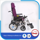 electric wheelchair with high backrest