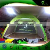 Unique Design inflatable pillar tent,commercial inflatable tent with removable sides