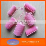 Specially designed foam hair rollers with clip itself / The best hair rollers / Foam rollers