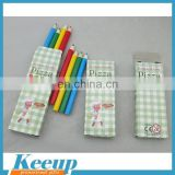 School Supply Colouring Pencil Set in Paper Color Box For Promotion