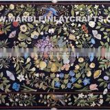 Marble Inlaid Dining Tables Tops, Marble Inlay Table Top, Marble Inlay Pietra Dura Table Tops
