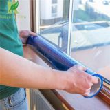 Clear Blue Self Adhesive Indoors  Glass and Window Protective Film