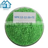Agriculture chemicals solid npk 12-12-17 2mgo fertilizer