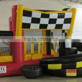 Factory price inflatable bouncer with slide,durable inflatable jumping bouncer,inflatable bouncer castle price