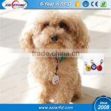 ISO14443A 13.56MHZ NFC Pet Tag,Keytag QR Code
