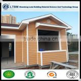 Exterior Wall High Anti-bending strength and class-A1 Fire-proof Wood Grain Siding Panel for Buliding & Deceration Material