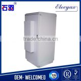 "SPCC cold-rolled steel equipment cabinet/outdoor communication cabinet/SK-80180/19"" rack metal box with cooler unit"