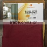 BAMBOO JOINTED SHOWER CURTAIN WITH C HOOK