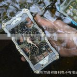 R-just Full Protect Metal+Aluminum+Tempered Glass Outdoor Waterproof Case for iPhone 6 4.7inch