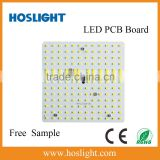 ac 220v aluminum base pcb board 2835 smd with magnet/Square 130*130mm 15W Hoslight LED module ac 220v directly