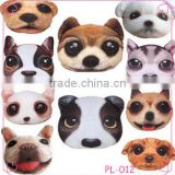 2015 new fashion big size 3D cute dog hug pillow