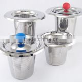 Yangjiang high-grade teapot water bottle stainless steel tea strainer