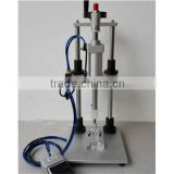 pneumatic perfume collar cap pressing machine/perfume collar closing machine